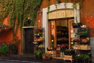 Neighborhood Market, Rome, Italy