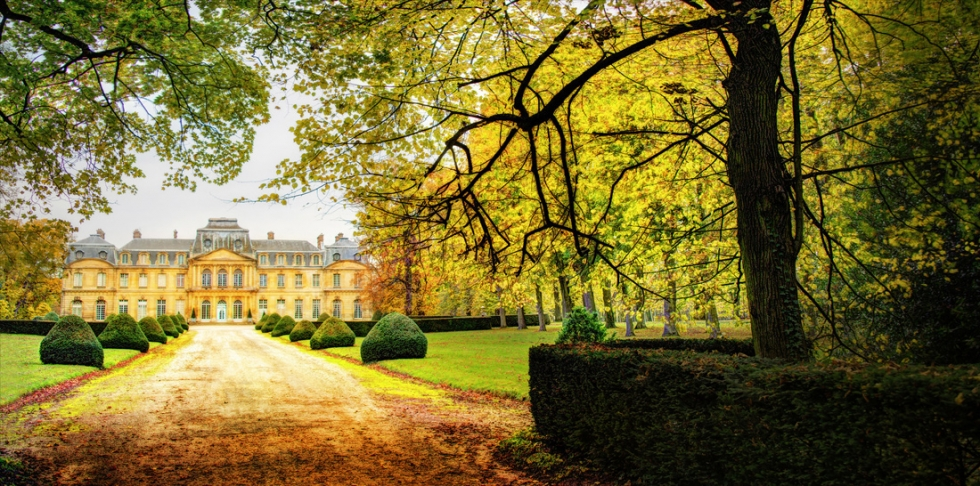 Afternoon at the Chateau, Paris, France