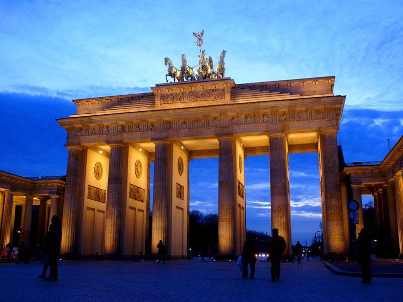 Brandenburg Gate Berlin Photo Brandenburg Gate Berlin