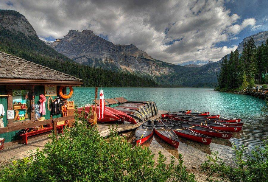 Emerald Lake, Canada