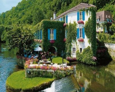 Le Moulin de l'Abbaye Hotel, Brantome, France