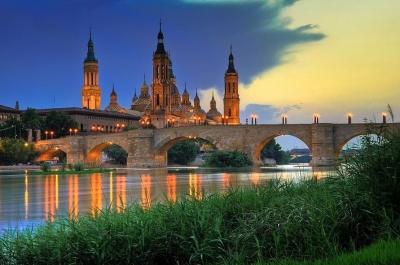Puente de Piedra, Zaragoza, Spain