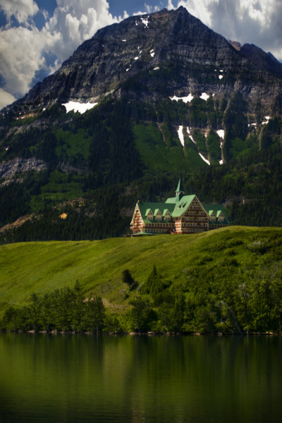 Summer in Waterton, Canada