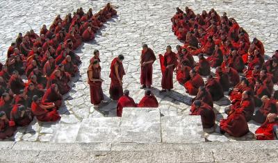 Monks, Tibet