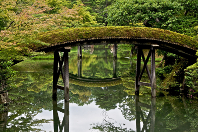 Two Bridges, Kyoto, Japan