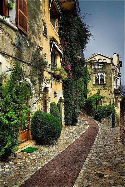 Ancient Walkway, St. Paul de Vence, France