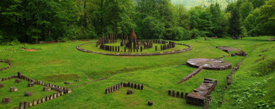 Ancient sacred sanctuary of Sarmizegetusa Regia, Transylvania, Romania