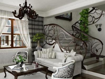 Beautiful house interior