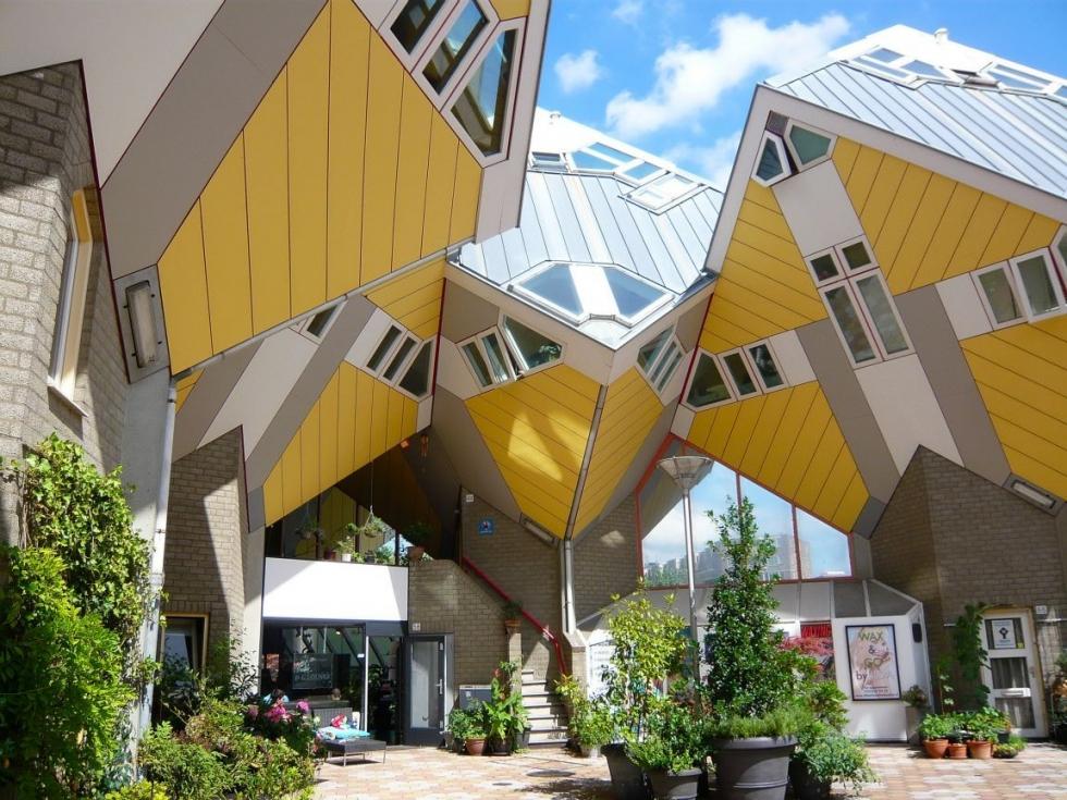 Cube Houses Of Rotterdam, Netherlands