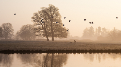 Early morning in Middlegreen, Slough, England