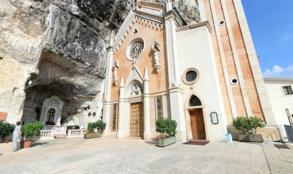 Madonna Della Corona Church, Italy