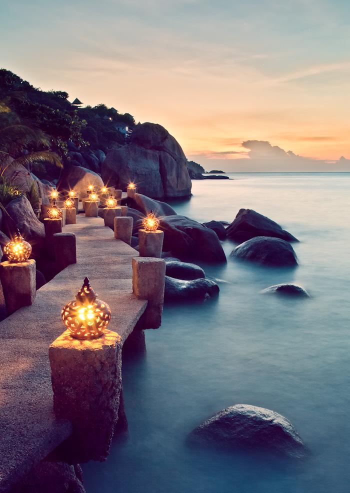 Seaside Lanterns Ko Tal Thailand