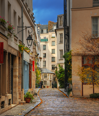 Side Street, Paris, France