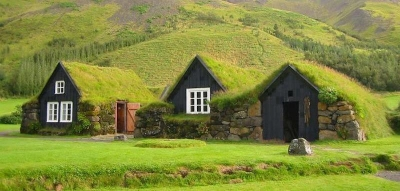 Turf Houses, Faroe Islands