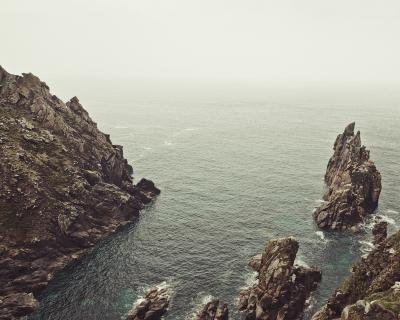 West Cornwall coast, England