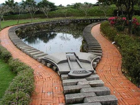 Zipper Pond, Taiwan