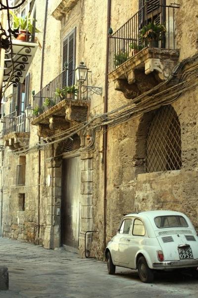 Ancient Street, Sicily, Italy