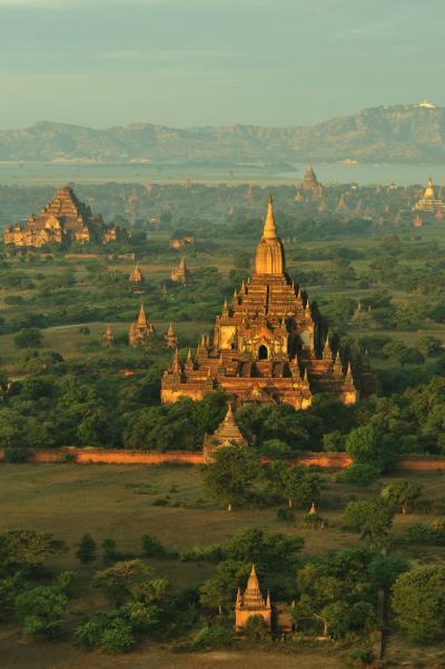 Buddhist Bagan temples, Myanmar