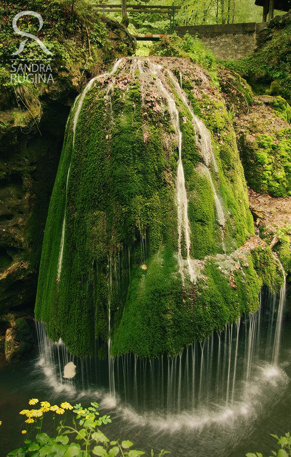 Bigăr Cascade Falls in Caraș Severin, Romania