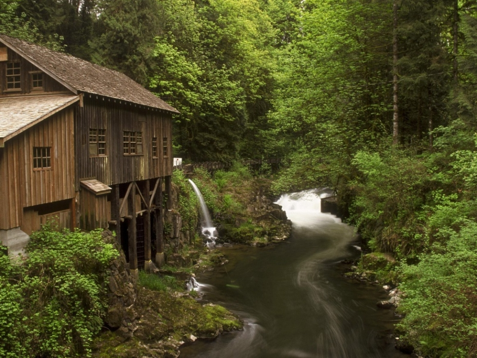 Cedar Creek Grist Mill, near Vancouver, Washington