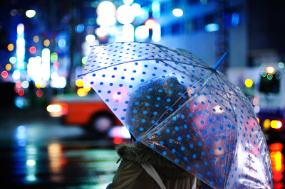 City rain, Tokyo