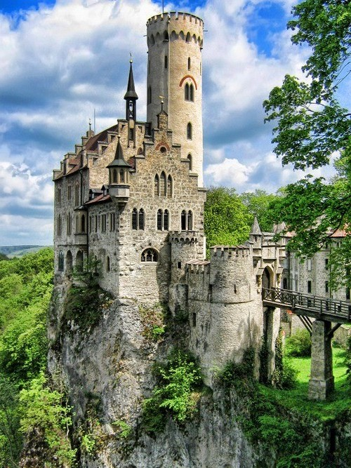 Lichtenstein castle baden wurttemburg germany photo on for Sun castle