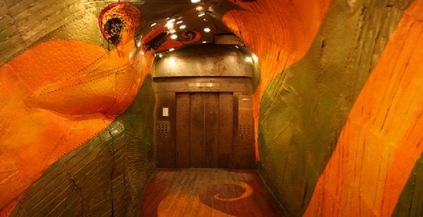 Long Island Business Center elevator