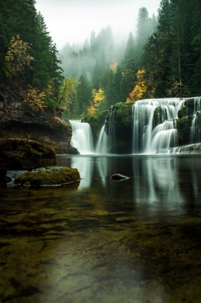 Lower River Falls, Washington