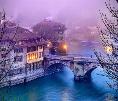 River Bridge, Bern, Switzerland