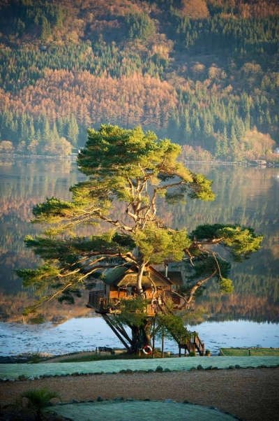 Tree House Lodge, Loch Goil, Scotland