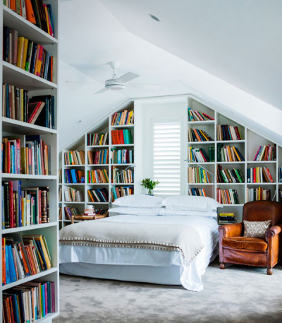Bedroom Library, Sydney, Australia