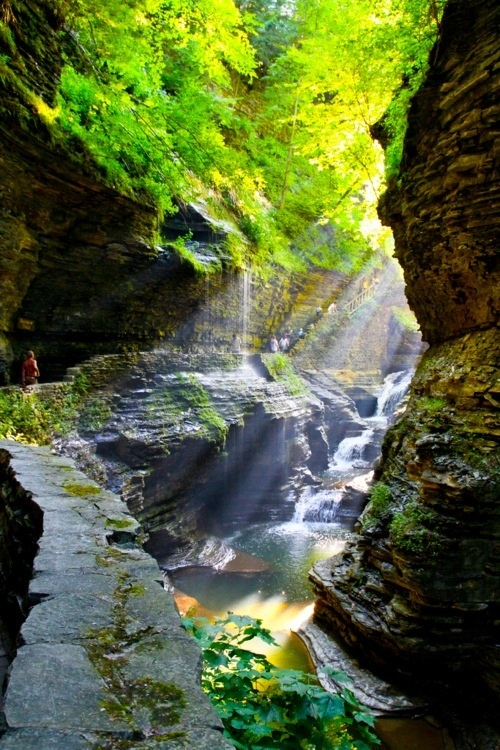 Canyon, Watkins Glen, New York
