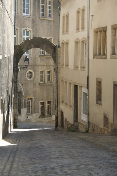 Old streets of Luxembourg