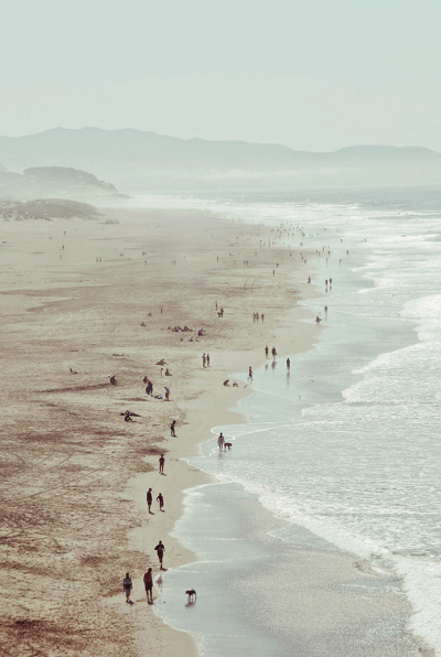 Ocean Beach, San Francisco, California