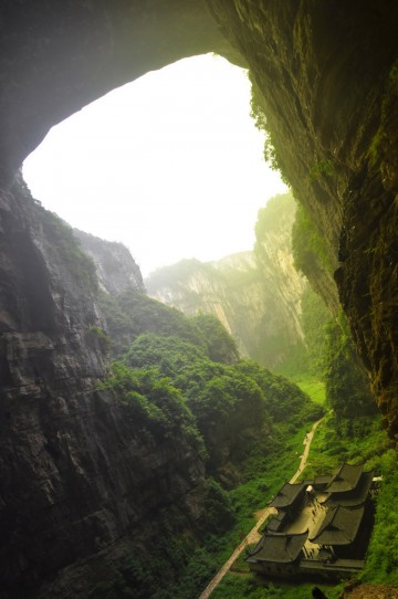 Qikeng Don in Wulong, China