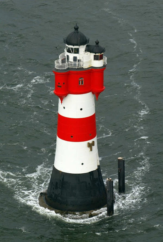 Roter Sand Lighthouse Turned Hotel, Bremerhaven, Germany