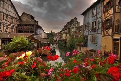 Spring Blossoms, Colmar, France