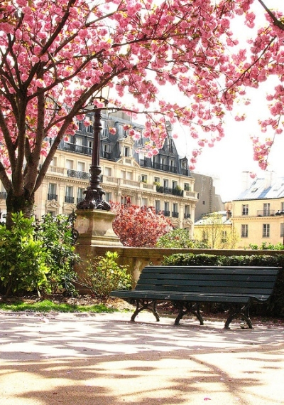Springtime in Paris, France
