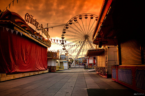 Sunset Fair, Potsdam, Germany