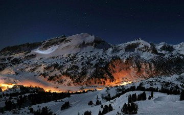 The-Alps-in-Obertauern,-Austria