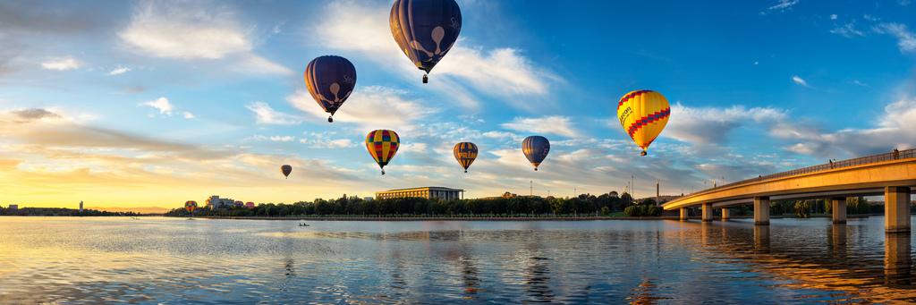 Balloon Spectacular Canberra Australia Photo On Sunsurfer