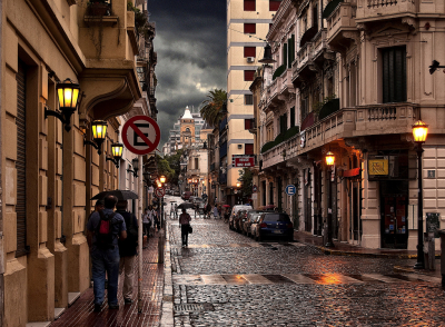 Rainy Day, Buenos Aires, Argentina