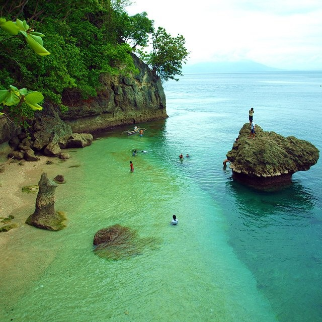 Canibad Beach, Samal Island, Philippines