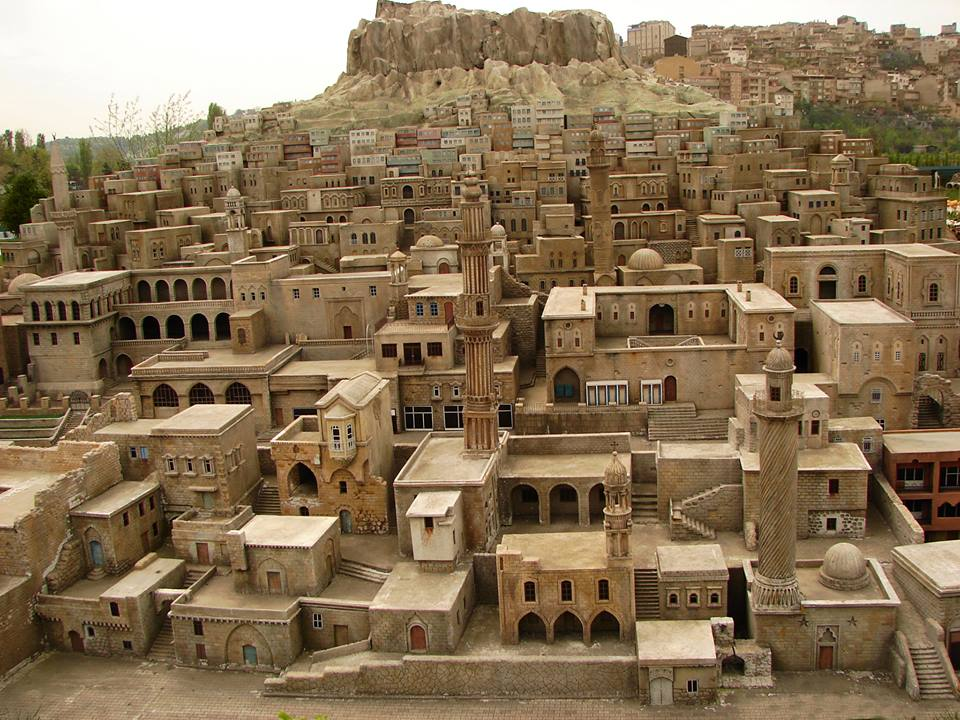 Mardin Stone houses,Turkey