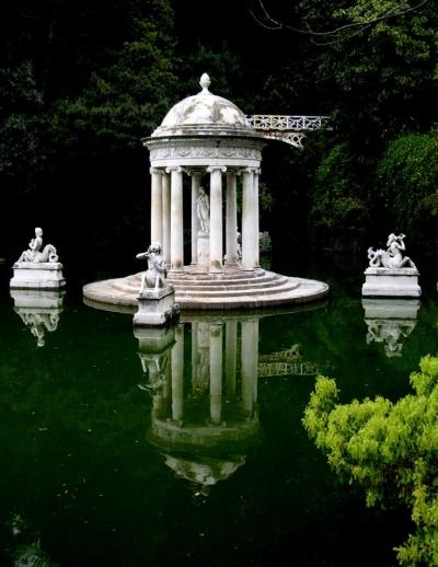 Temple of Diana, Villa Durazzo Pallavicini, Italy