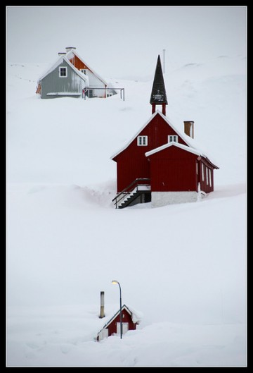Winter in Greenland