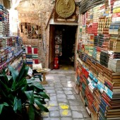 Bookshop - Venice, Italy