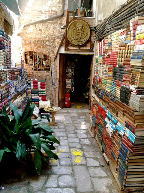 Bookshop – Venice, Italy