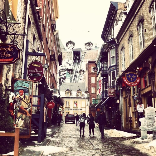 Winter in Quebec, Canada