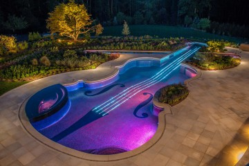 Violin Pool, Bergen County, New Jersey